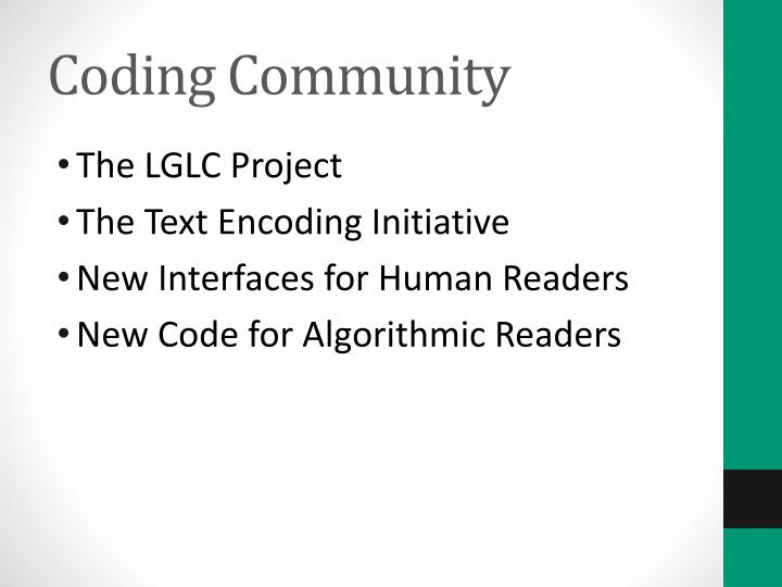 Coding Community