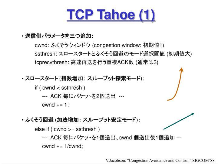 TCP Tahoe (1)
