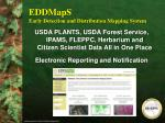 eddmaps early detection and distribution mapping system