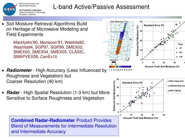 L-band Active/Passive Assessment