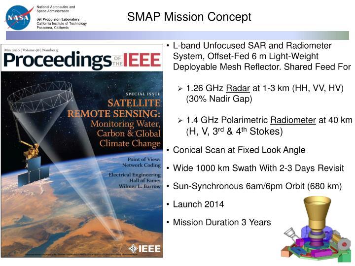 SMAP Mission Concept