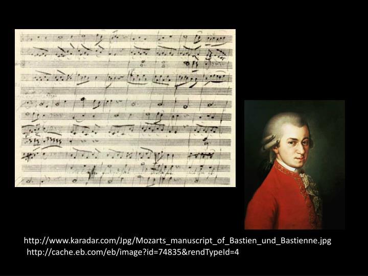 http://www.karadar.com/Jpg/Mozarts_manuscript_of_Bastien_und_Bastienne.jpg