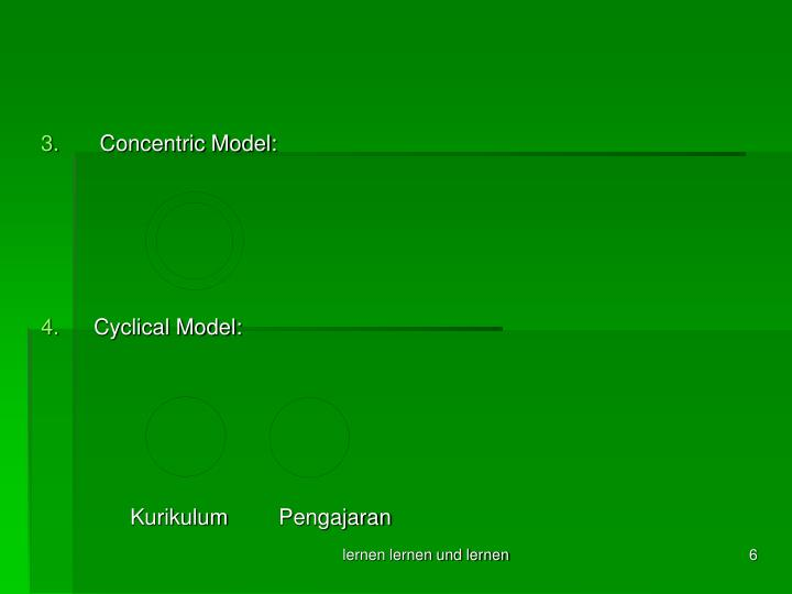 Concentric Model: