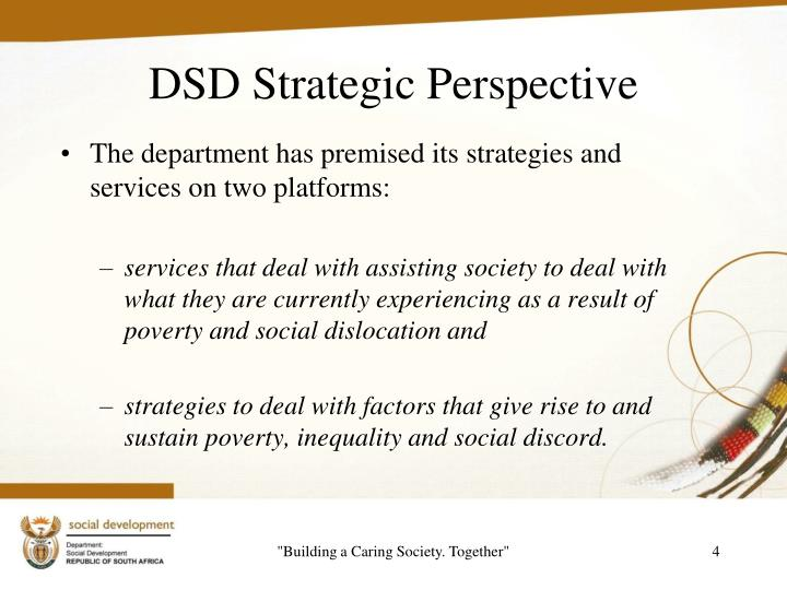 DSD Strategic Perspective