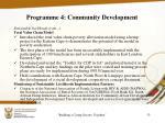 programme 4 community development5