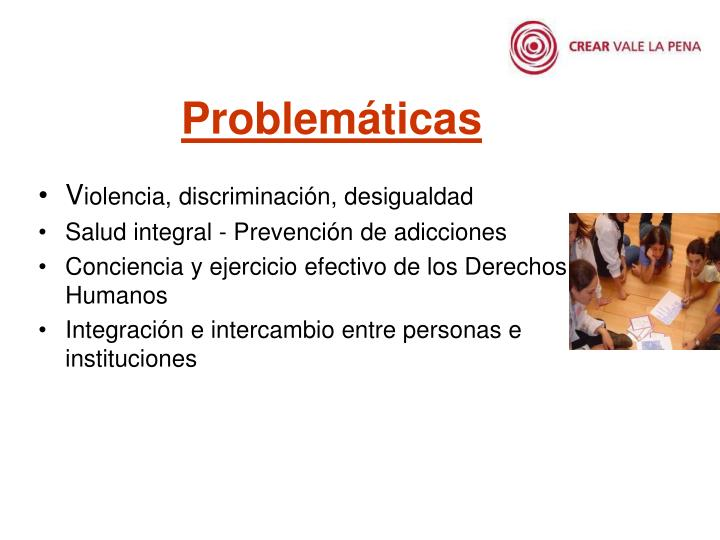 Problemáticas