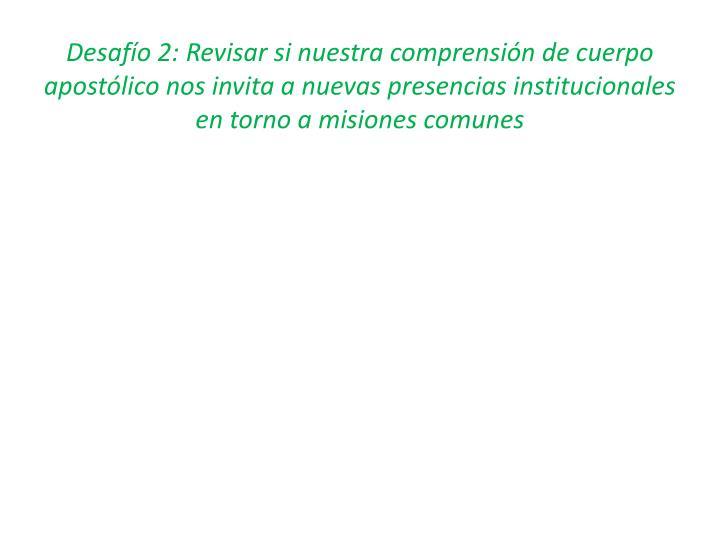 Desafío 2: