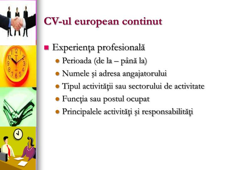 CV-ul