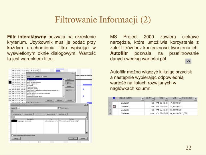 Filtrowanie Informacji (2)