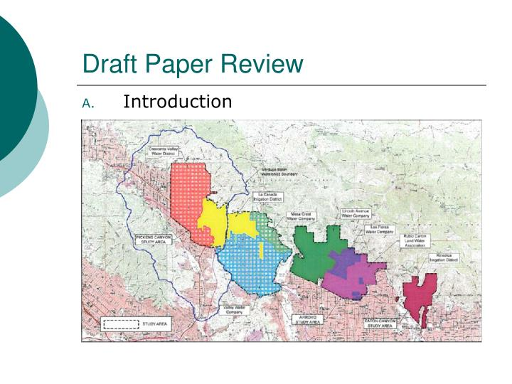 Draft Paper Review