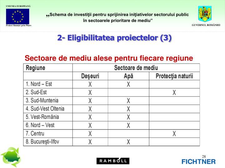 2- Eligibilitatea proiectelor (3)