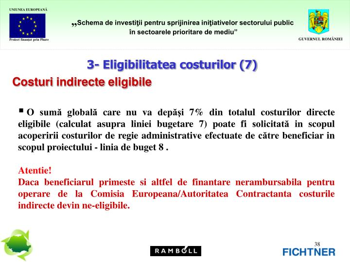 3- Eligibilitatea costurilor (7)