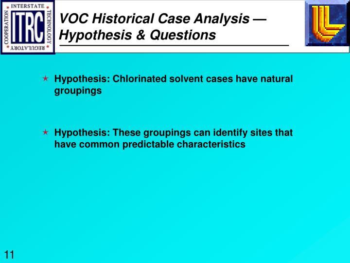 VOC Historical Case Analysis —