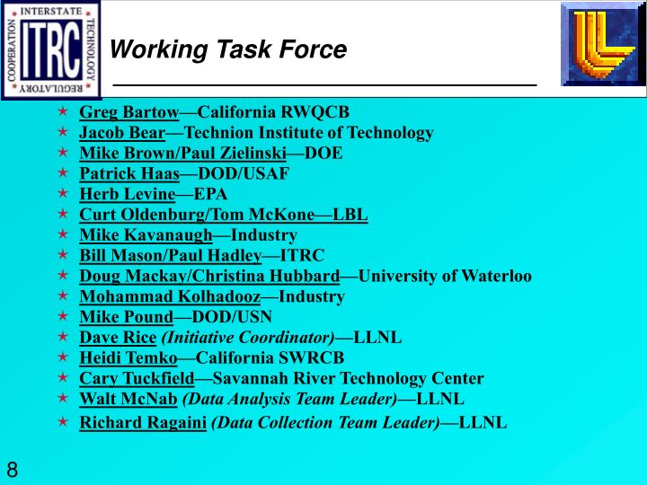 Working Task Force
