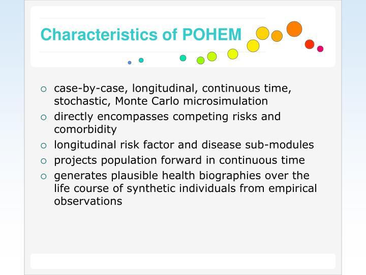 Characteristics of POHEM
