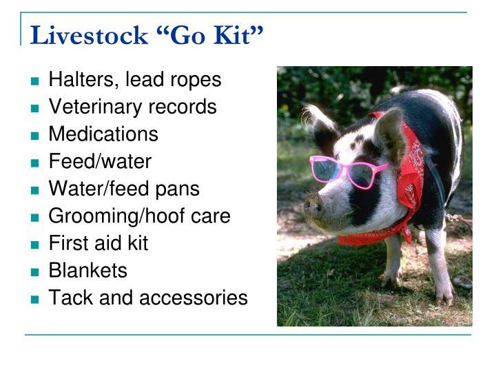 "Livestock ""Go Kit"""