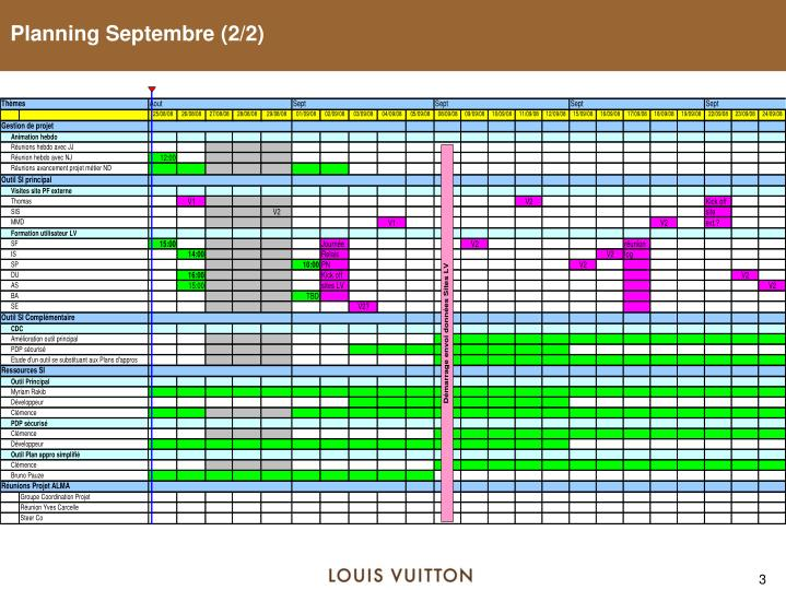 Planning Septembre (2/2)