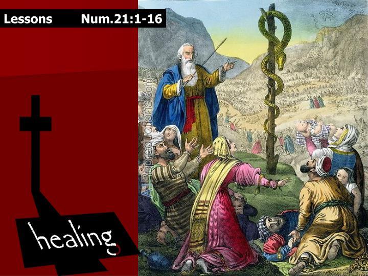 Lessons Num.21:1-16