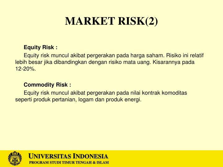 MARKET RISK(2)