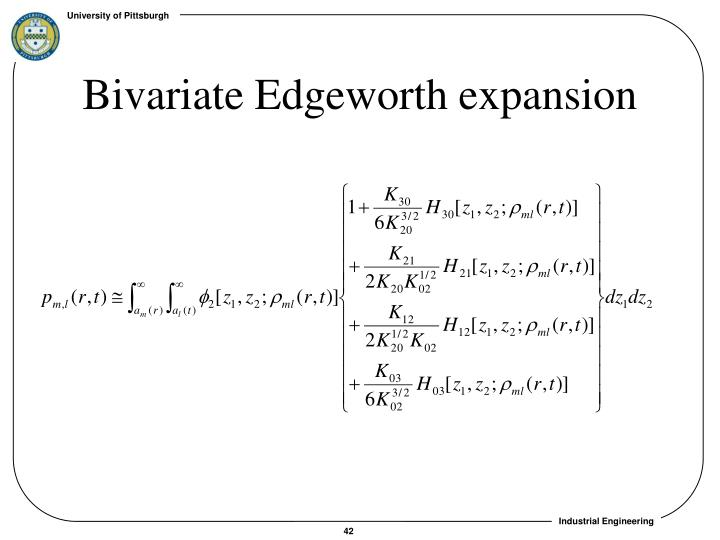 Bivariate Edgeworth expansion