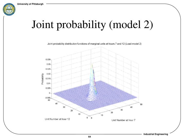 Joint probability (model 2)