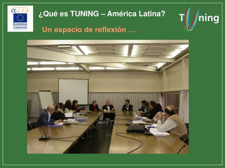 ¿Qué es TUNING – América Latina?