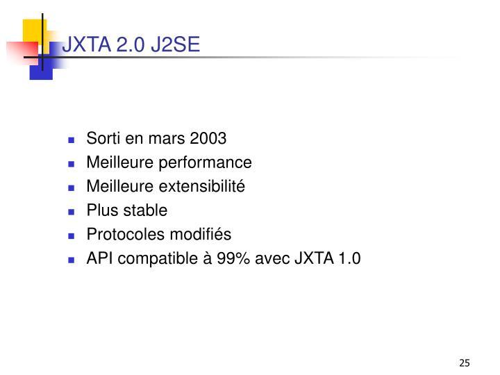JXTA 2.0 J2SE