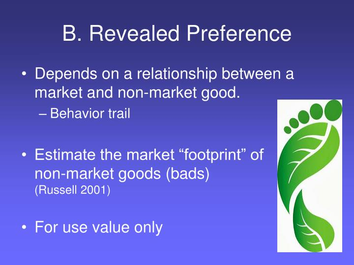 B. Revealed Preference