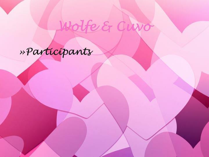 Wolfe & Cuvo