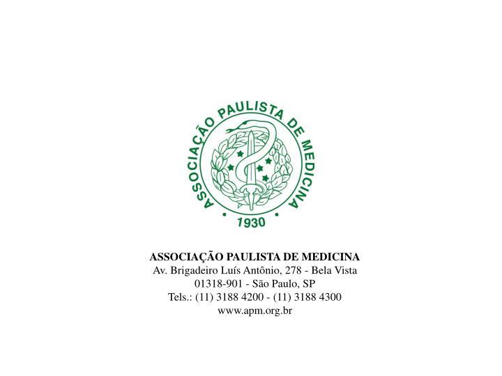ASSOCIAÇÃO PAULISTA DE MEDICINA