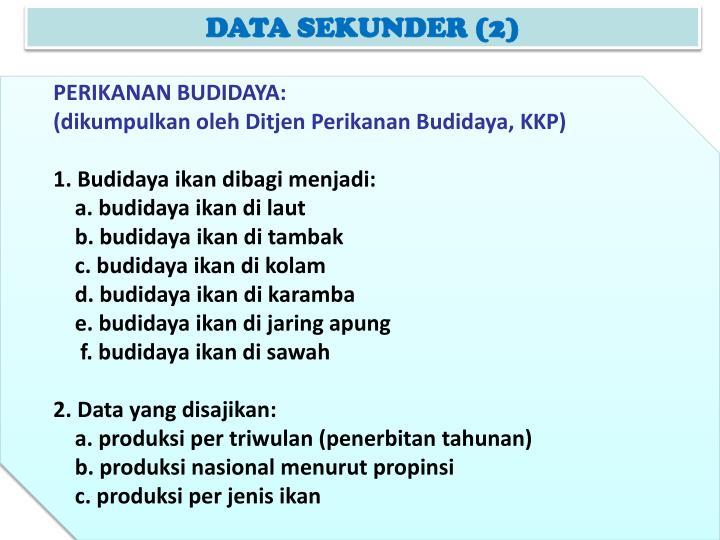 DATA SEKUNDER (2)