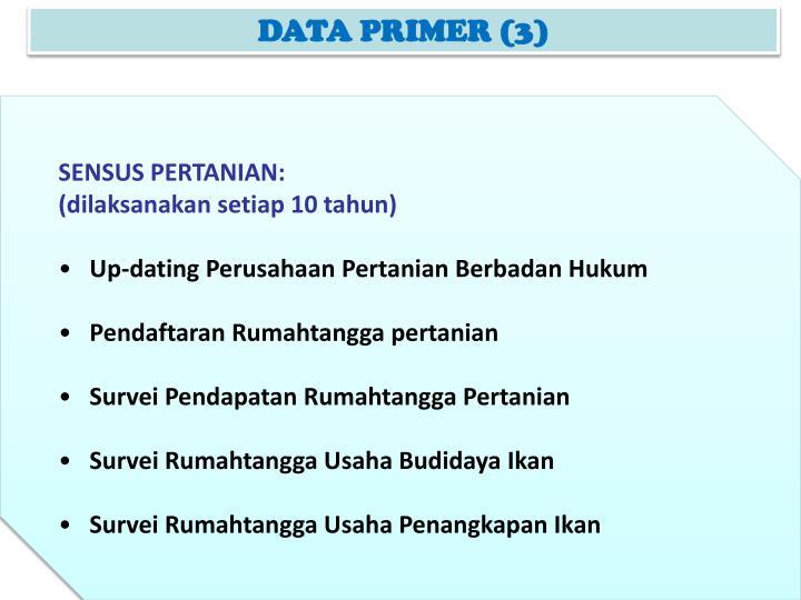 DATA PRIMER (3)