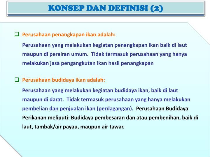 KONSEP DAN DEFINISI (2)