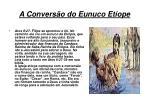 a convers o do eunuco et ope