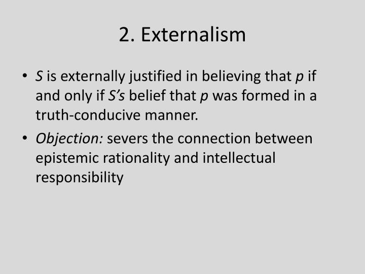 2. Externalism