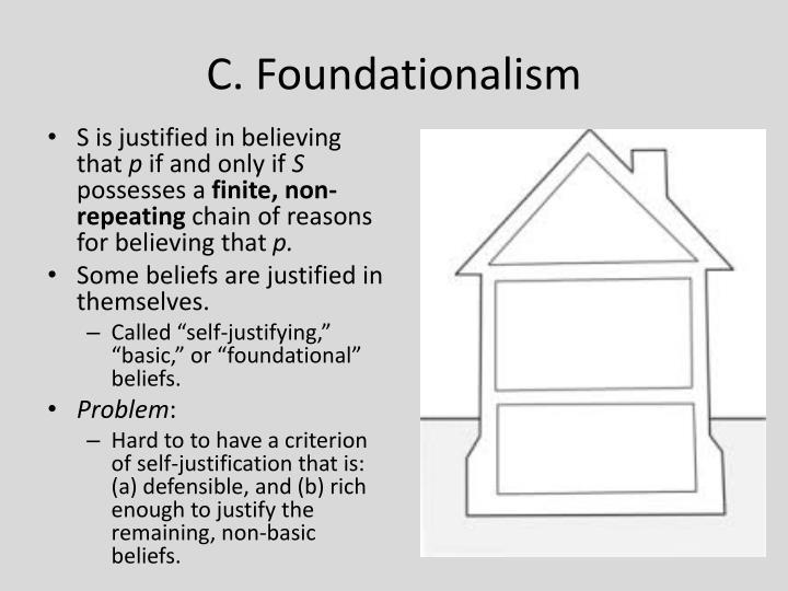 C. Foundationalism