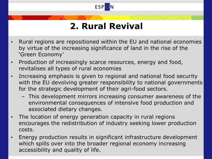 2. Rural Revival