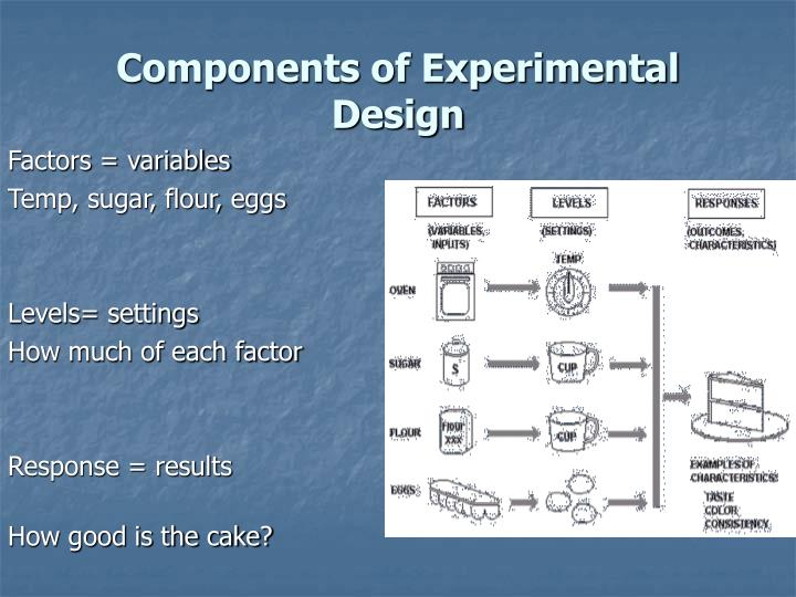 Components of Experimental Design