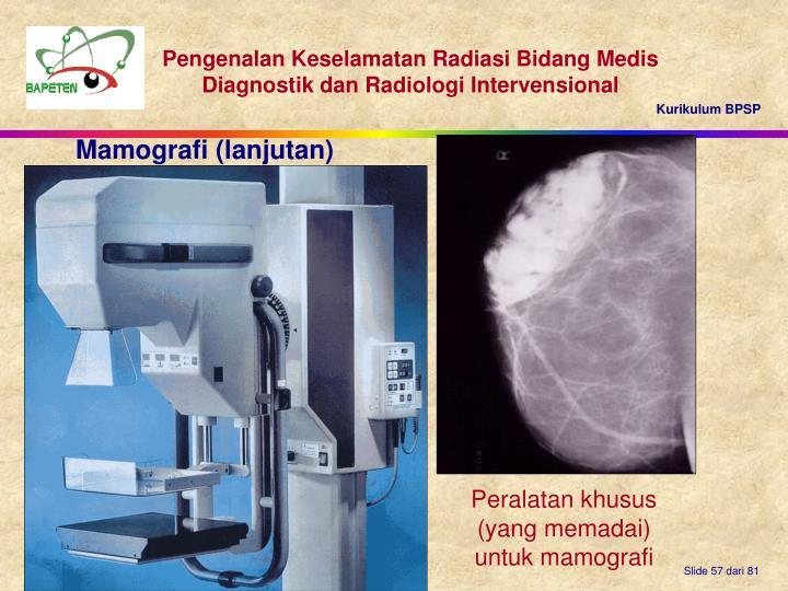 Mamografi (lanjutan)