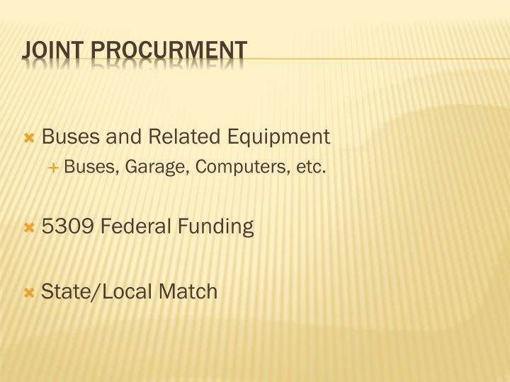 Buses and Related Equipment