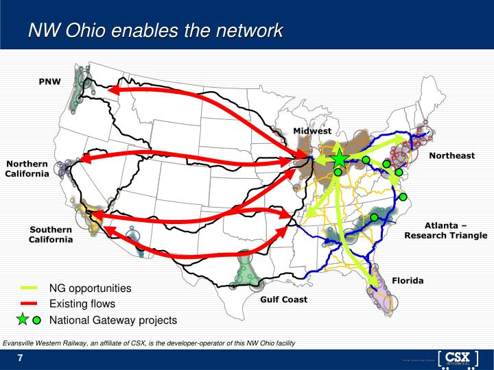 NW Ohio enables the network