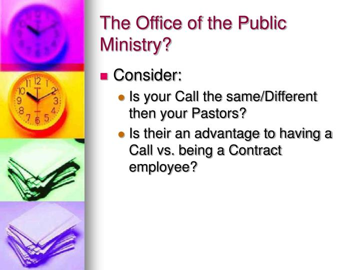 The Office of the Public Ministry?