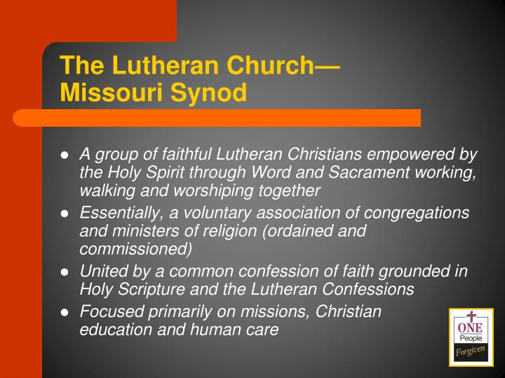 The Lutheran Church—