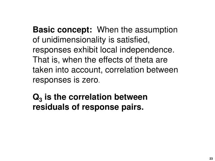 Basic concept: