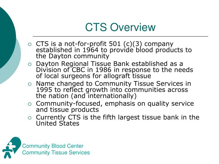 Cts overview