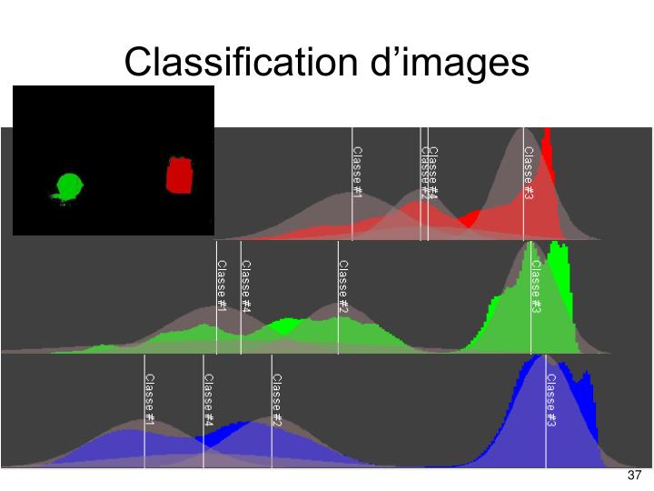 Classification d'images