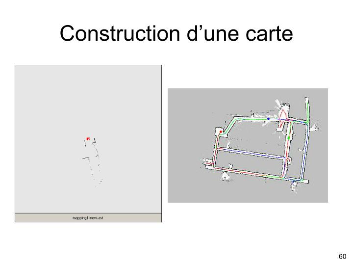 Construction d'une carte