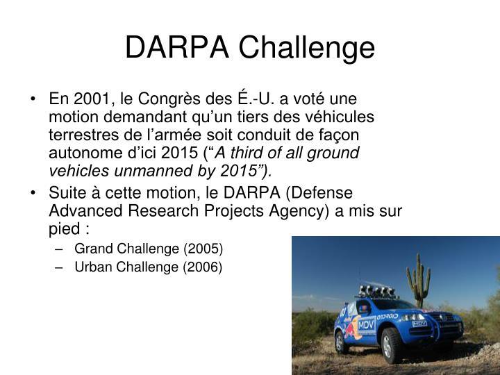 DARPA Challenge