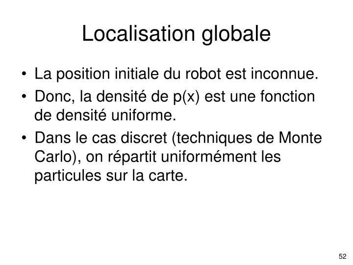 Localisation globale