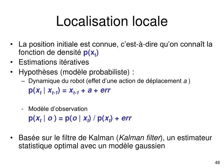 Localisation locale